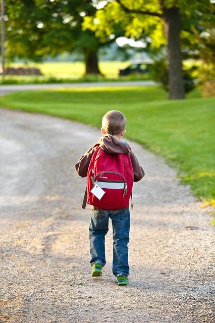 Ensimmäinen koulupäivä syksyllä 2020
